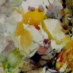 Bouquet blanc 75x55cm