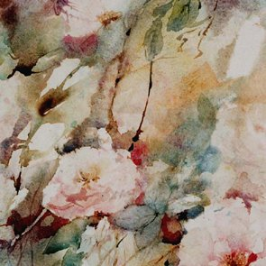 Les roses du jardin 50x70cm